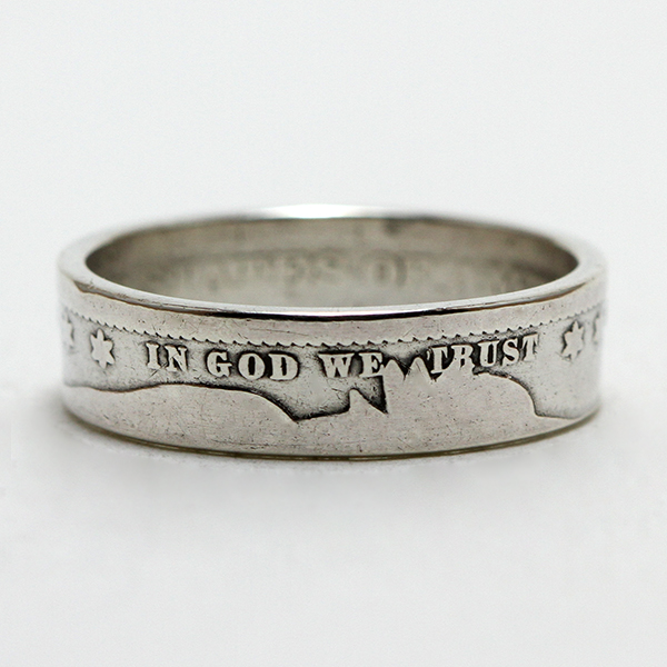Barber Quarter Coin Ring