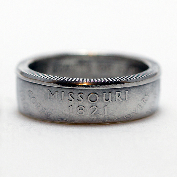 Missouri Quarter Coin Ring