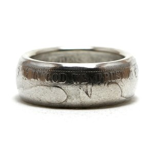 Barber Half Dollar Coin Ring