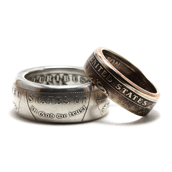 One Dollar Coin Rings