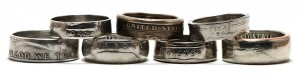 United States Coin Rings