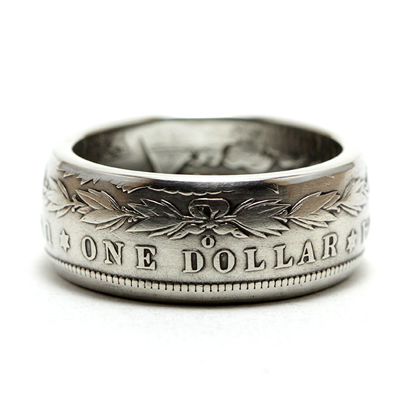 Morgan Coin Ring